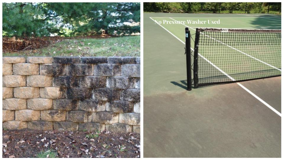 Block Walls - Tennis Courts
