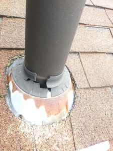 roof pipe collar